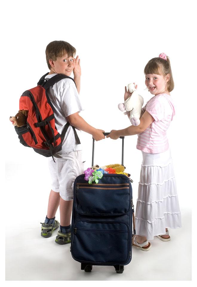 viajar con niños largas distancias
