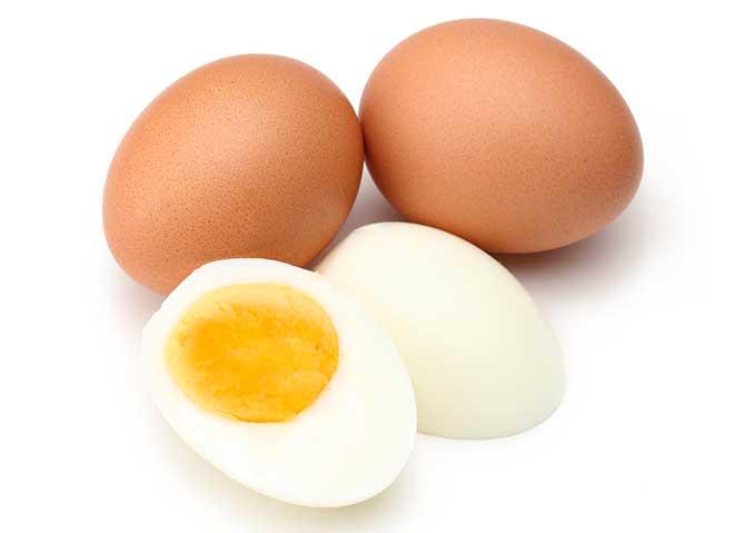 alimentos con proteina huevo