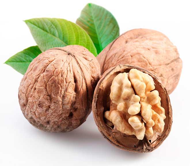alimentos con proteina nueces