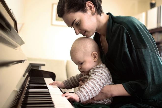 niños y musica